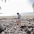 Climate change steals beach area in Costa Rica's Ballena Marine National Park