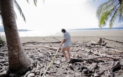 El cambio climático le resta metros de playa al Parque Marino Ballena