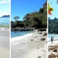 (VIDEO) Las tres playas del parque Manuel Antonio: ¿cuál prefiere?